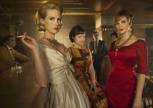 Mad Men leading ladies