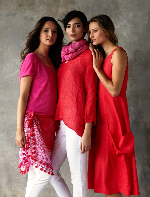 EILEEN FISHER Spring 2012 strawberry line