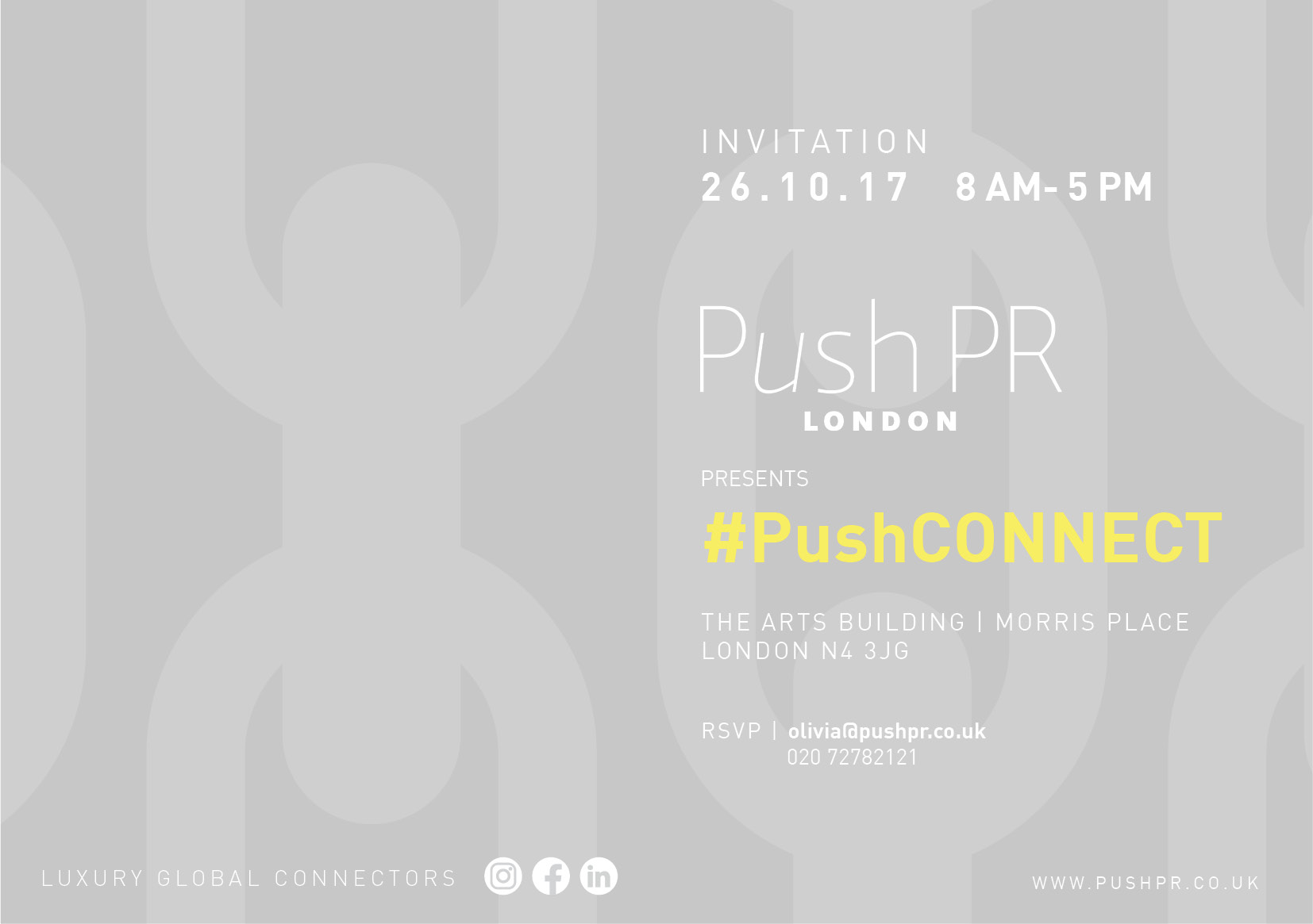 Push PR event #PushCONNECT