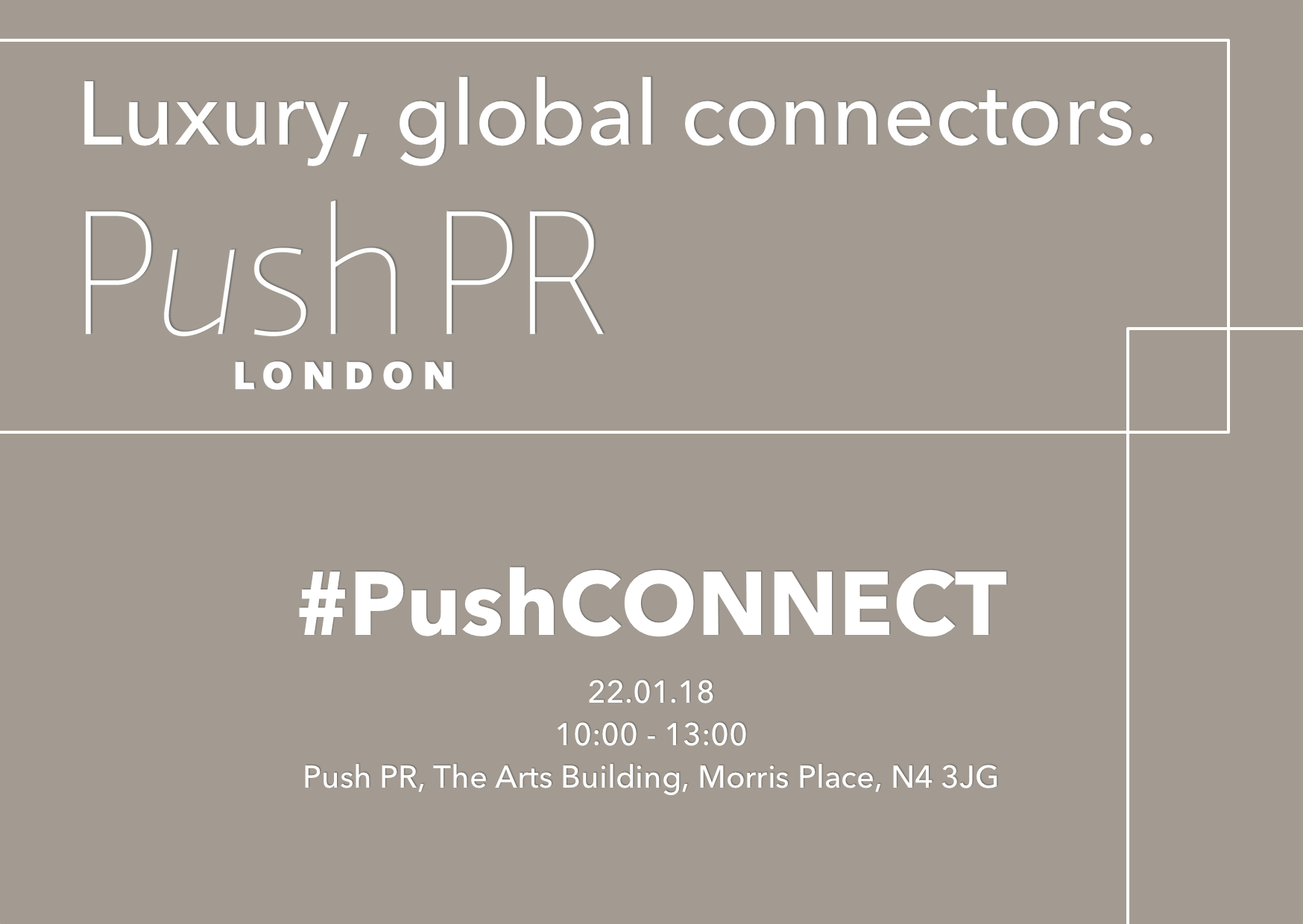 PushCONNECT Morning 22nd Jan