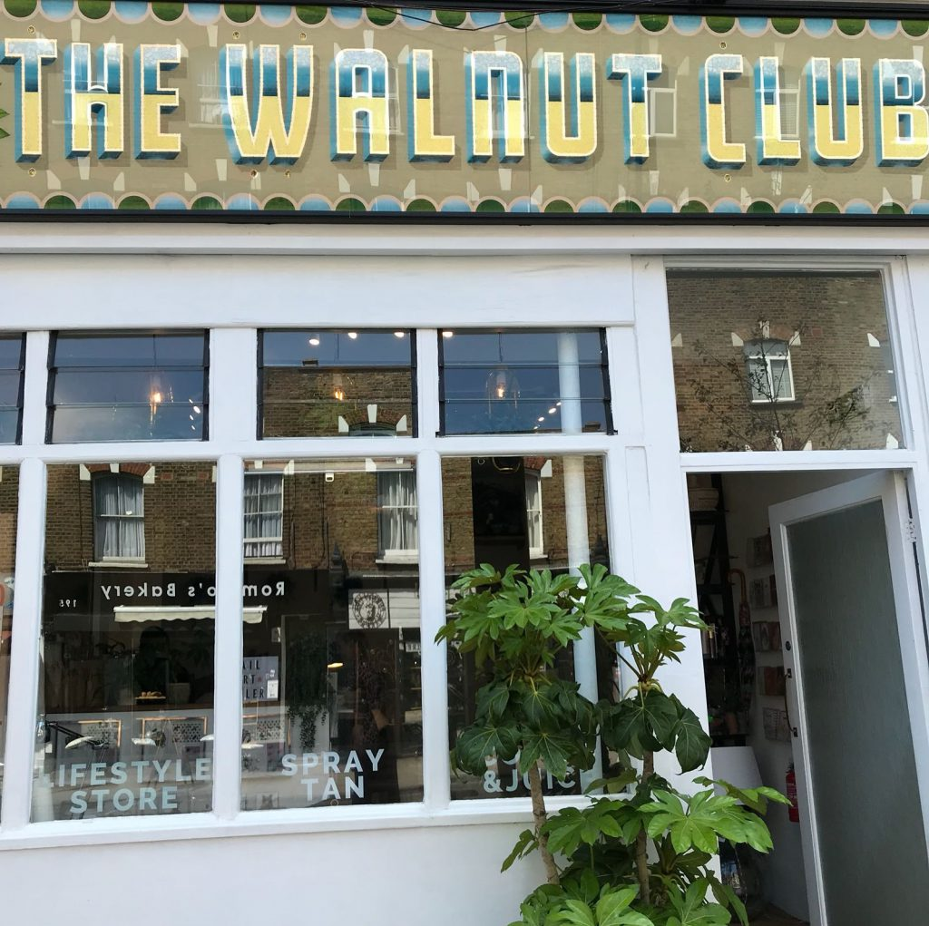 the-walnut-club beauty salon Highbury
