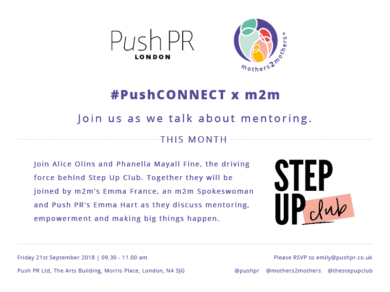 INVITATION #PushCONNECT x m2m - September 21st 9.30-11am
